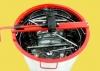 Медогонка 2-х рамочная редукторная с поворотными кассетами оцинкованная