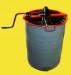 Медогонка 2-х рамочная редукторная с поворотными кассетами нержавеющая